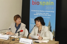 Biospain press conference in Madrid (May 2014)<br>